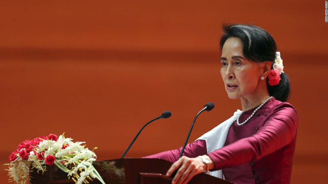 5 dubious claims Aung San Suu Kyi made in her speech