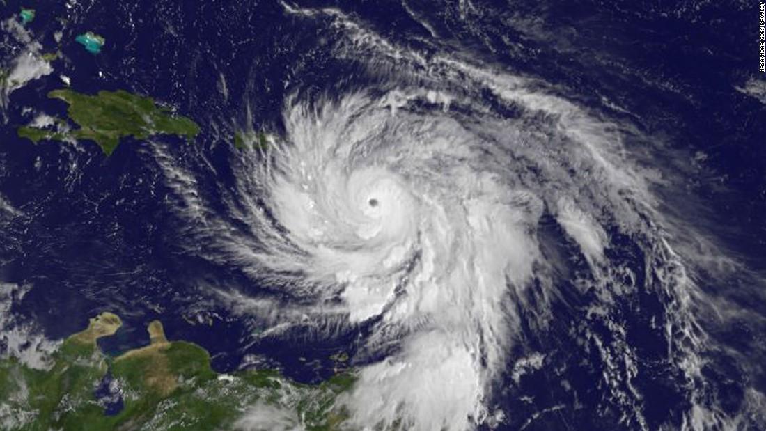 How Hurricane Maria's path compares to Irma's