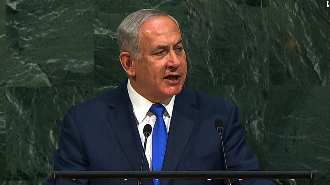 Netanyahu pitches his UN address to Trump