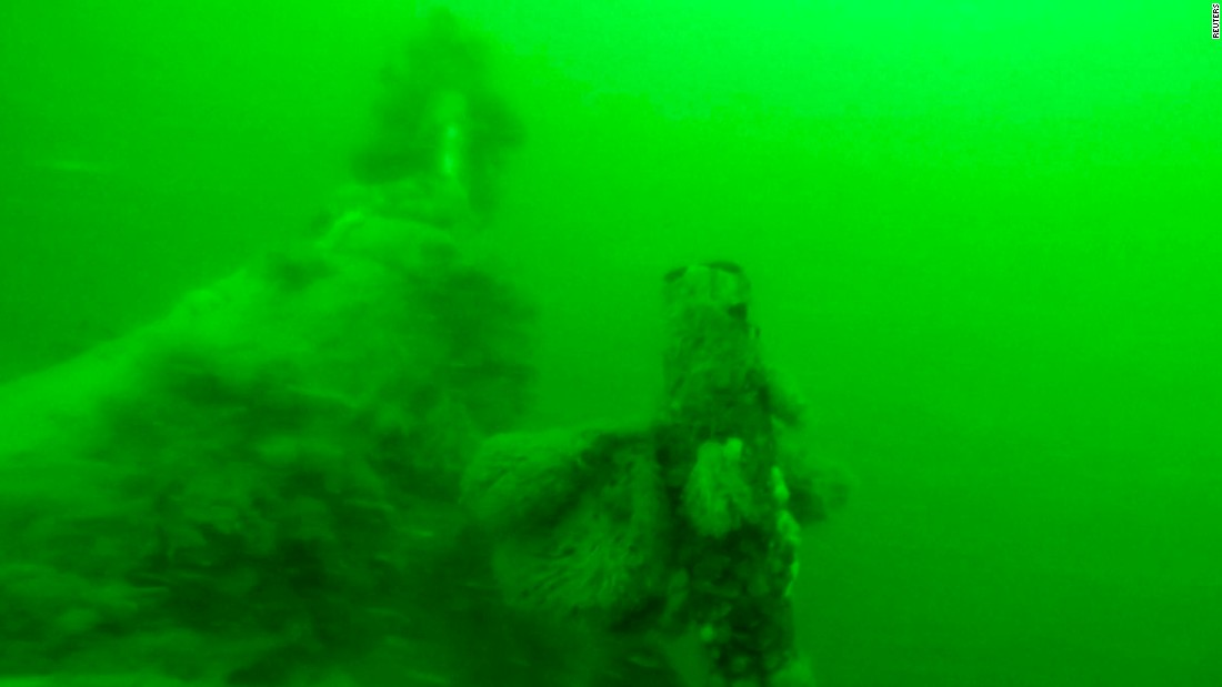 WWI German U-boat found off Belgian coast