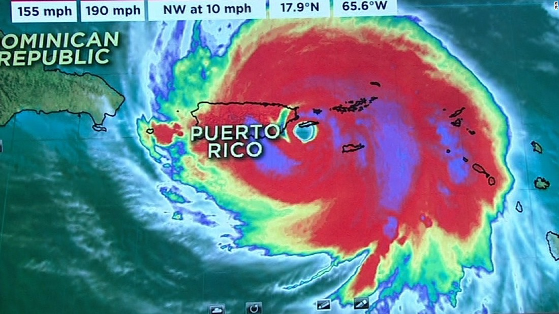 Dangerous Cat. 4 hurricane slams Puerto Rico