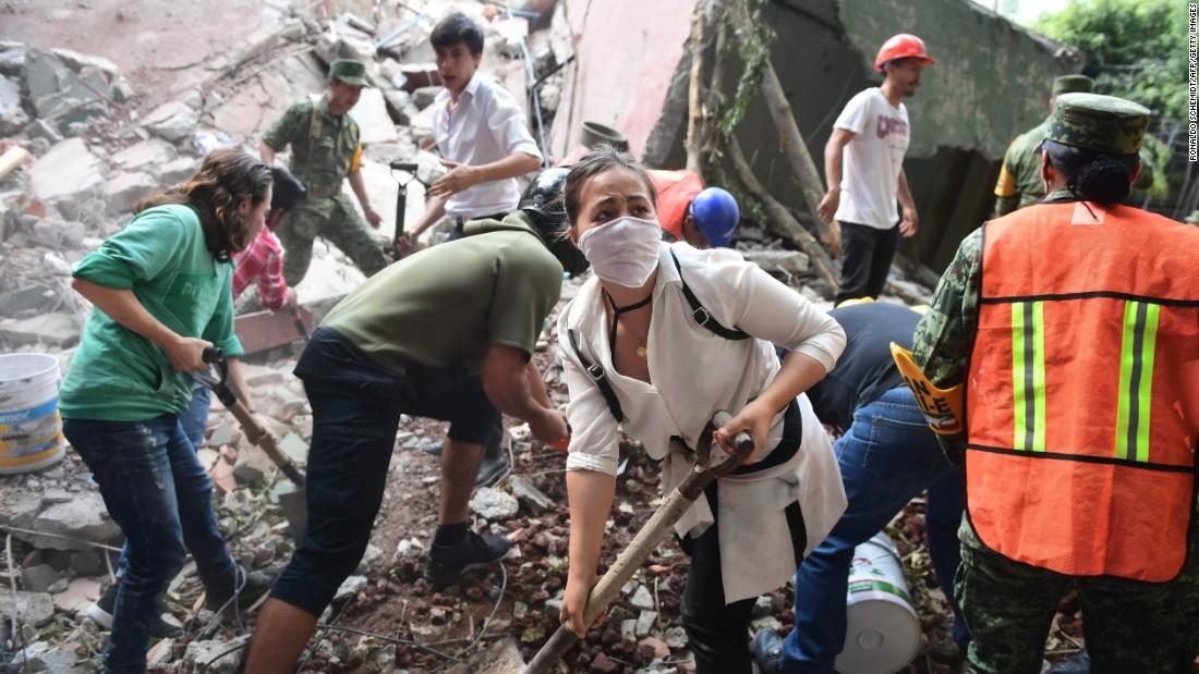 Mexico earthquake: Live updates