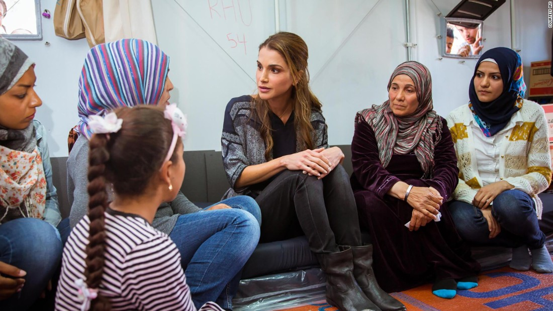 Queen of Jordan: Why global leadership on refugees counts