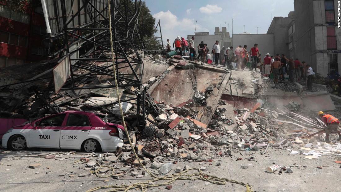 Mexico quake: Death toll rises, rescues continue
