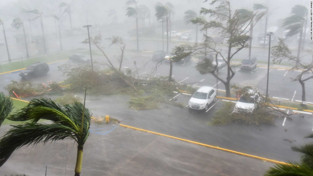 Category 4 hurricane was so powerful that it broke weather service radars on the island