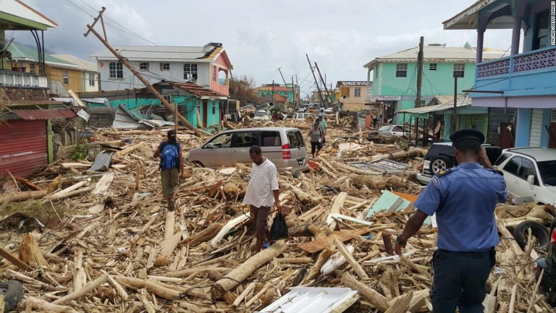 Maria kills 15 people in Dominica
