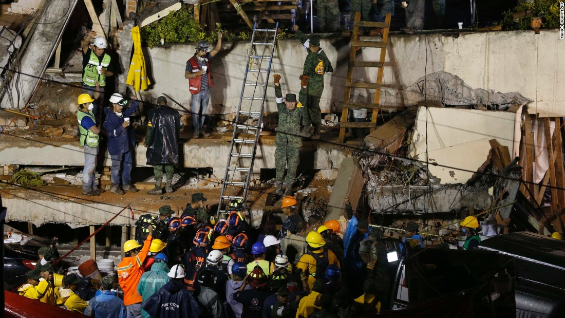 Race to reach girl trapped under rubble in Mexico intensifies