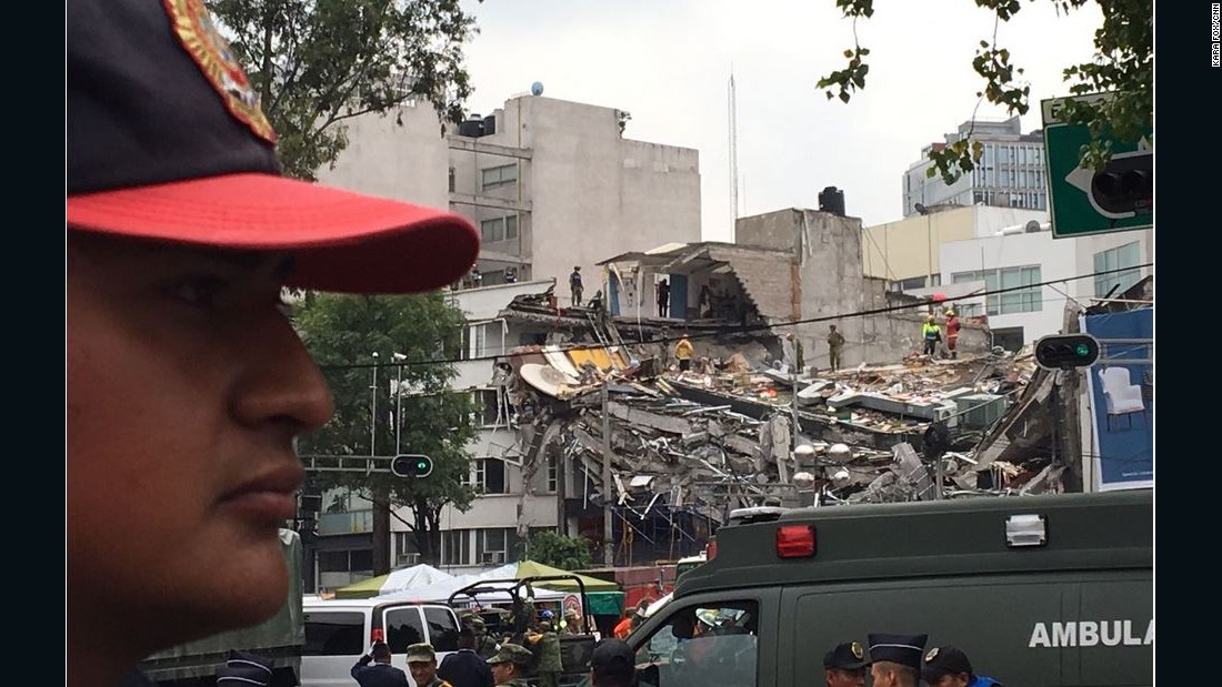 Mexico earthquake: Navy apologizes for report of trapped girl
