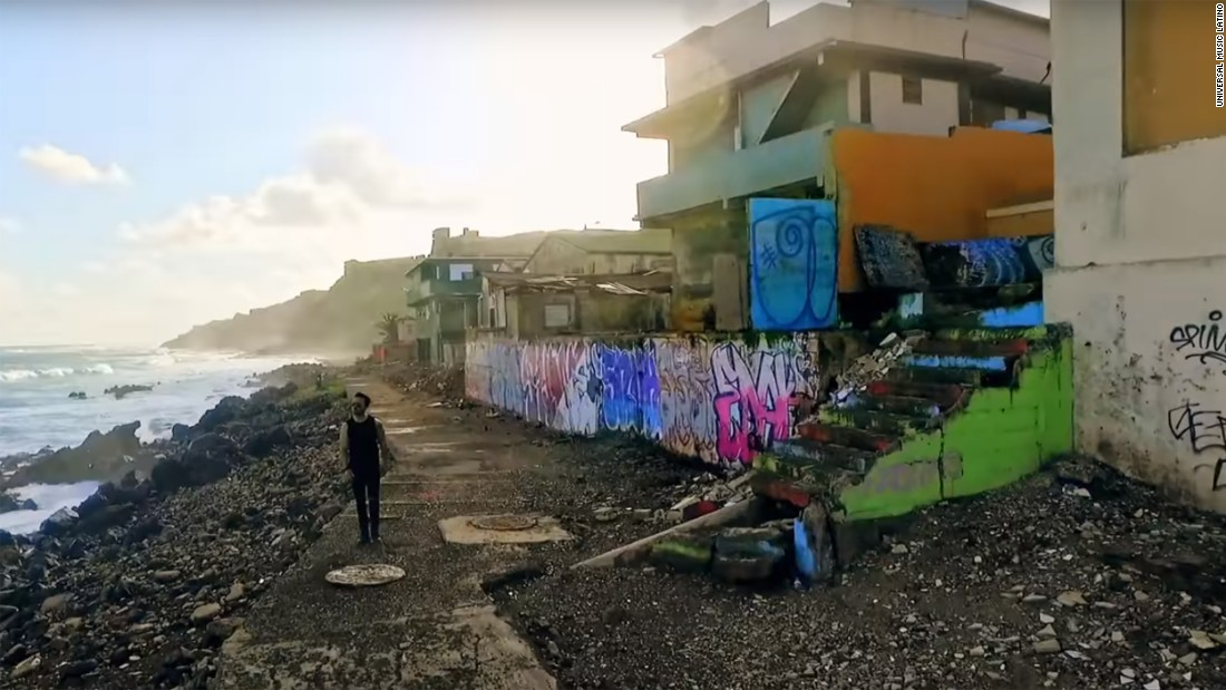 'Despacito' neighborhood left in ruins