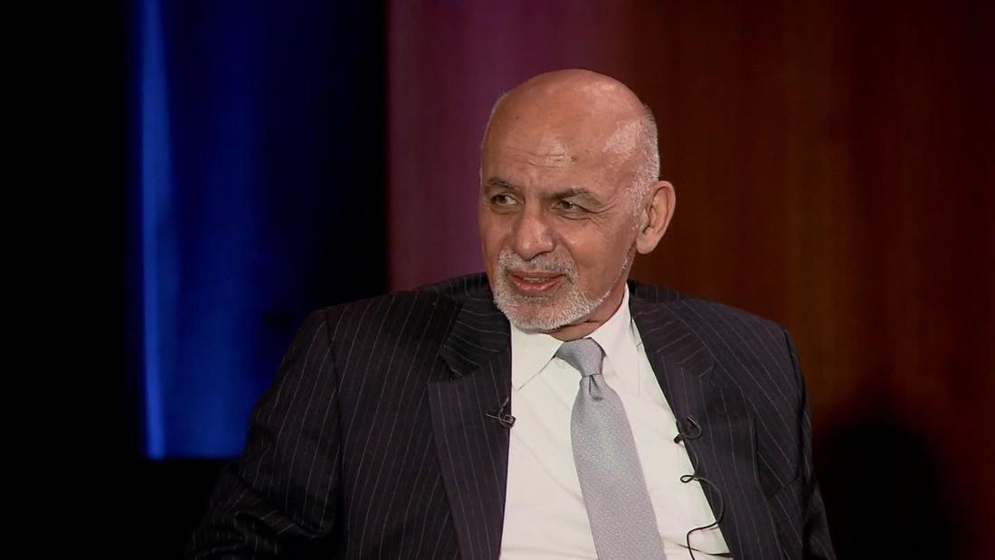 Ashraf Ghani on getting Trump's ear