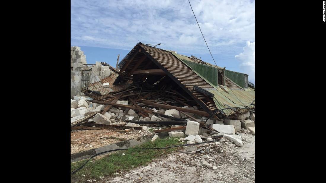 Hurricane Maria eyes Bahamas after Turks and Caicos