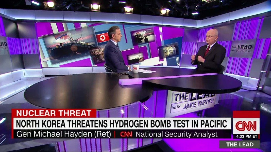 Fmr CIA Dir: H-Bomb test would be 'off the charts'