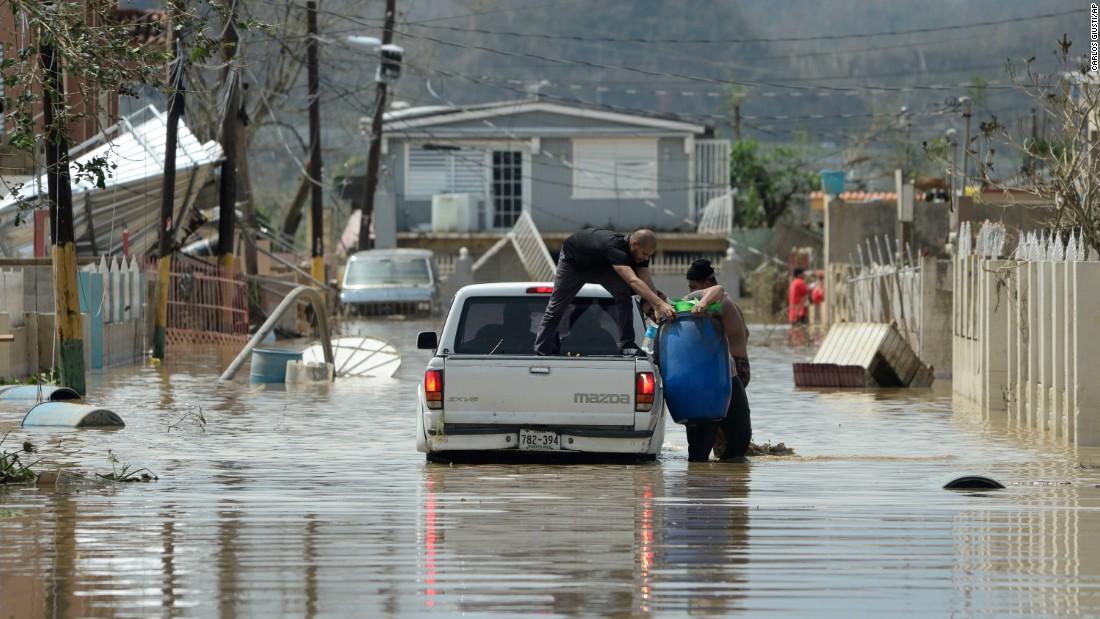 Hurricane Maria: Puerto Rico officials describe 'apocalyptic' conditions