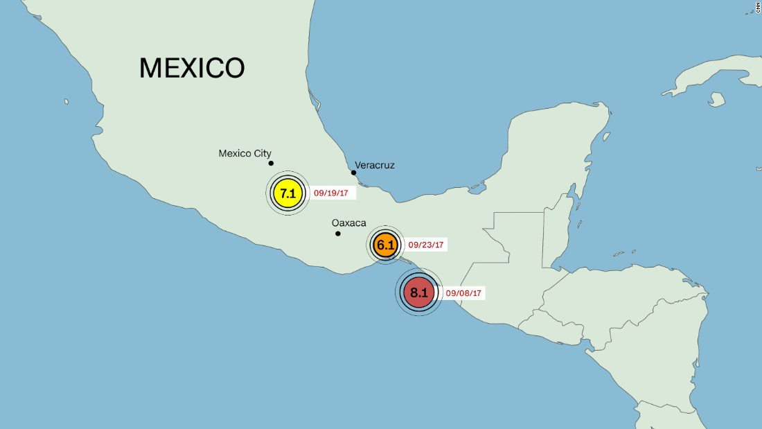 Two new quakes shake southern Mexico, already coping with disasters