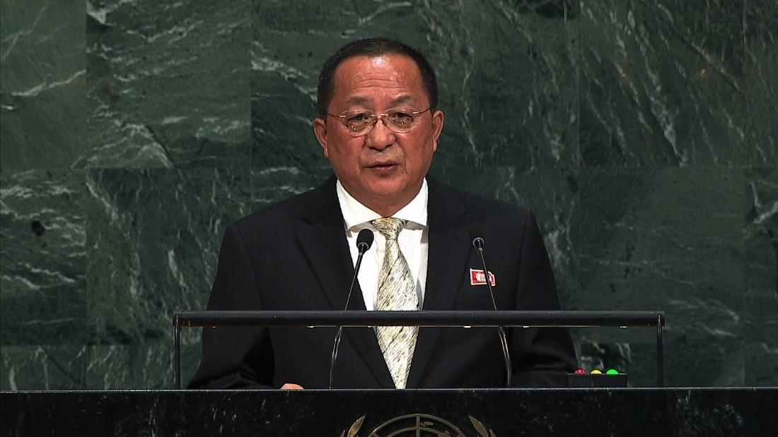 North Korea at U.N.: Attack on US 'inevitable'
