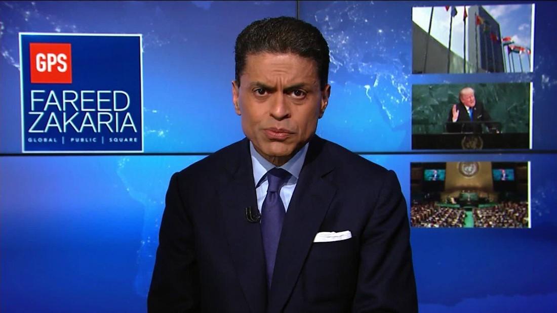 Fareed's Take: Pres. Trump's First U.N. Speech