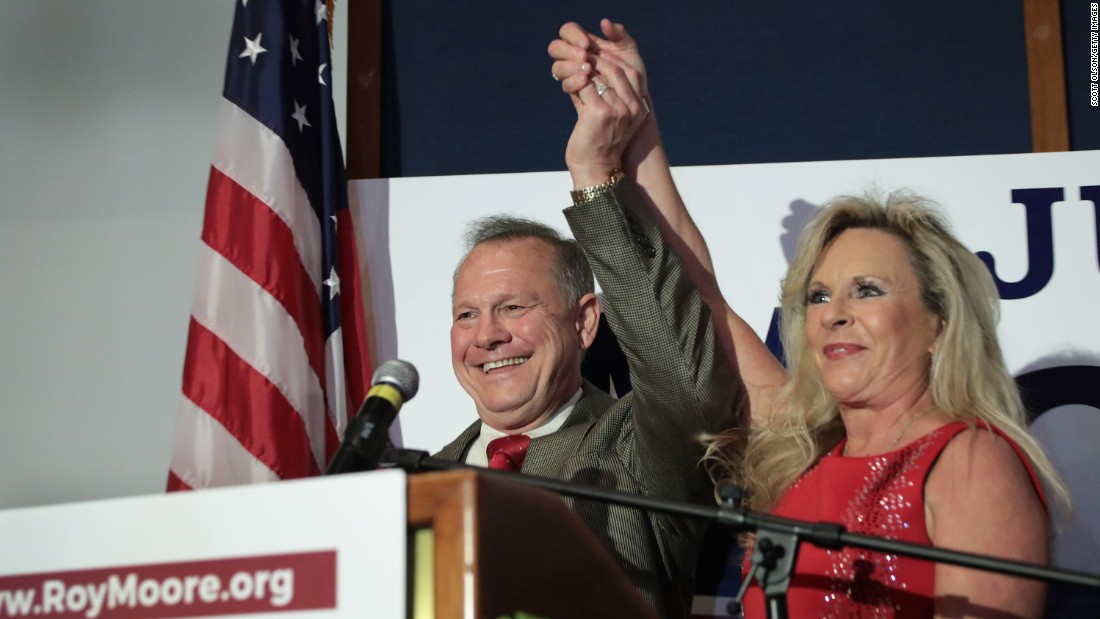 A closer look at Roy Moore's wife