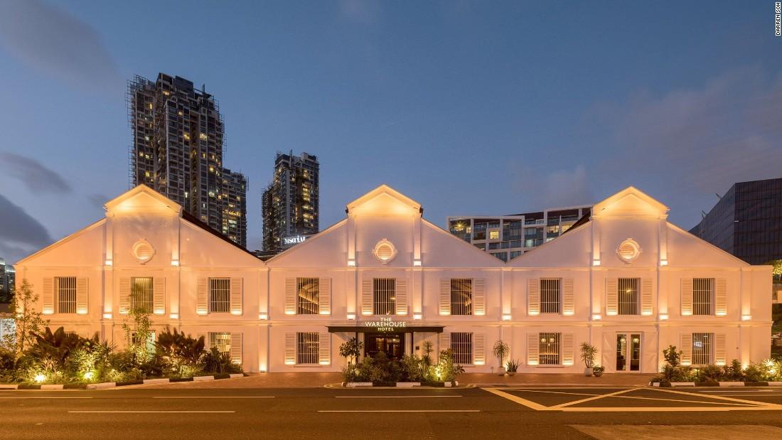From opium den to luxury hotel