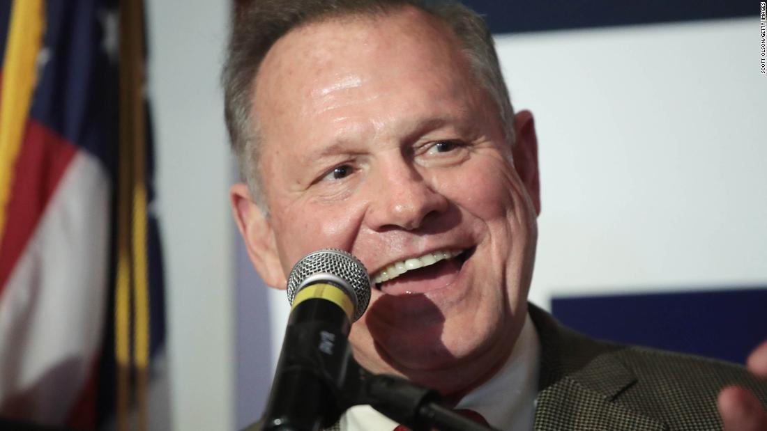Alabama Senate poll: Jones leads Moore
