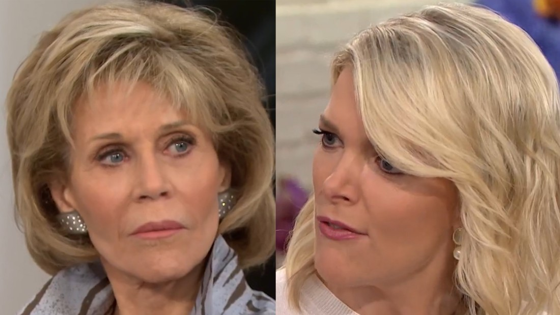 Megyn Kelly takes on Jane Fonda: 'I have no regrets about the question'