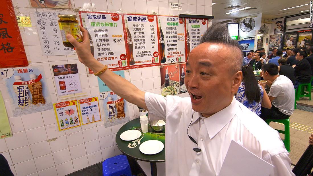 Hong Kong's wildest dining experience