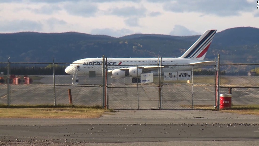 Air France engine parts that fell off mid-flight found in Greenland