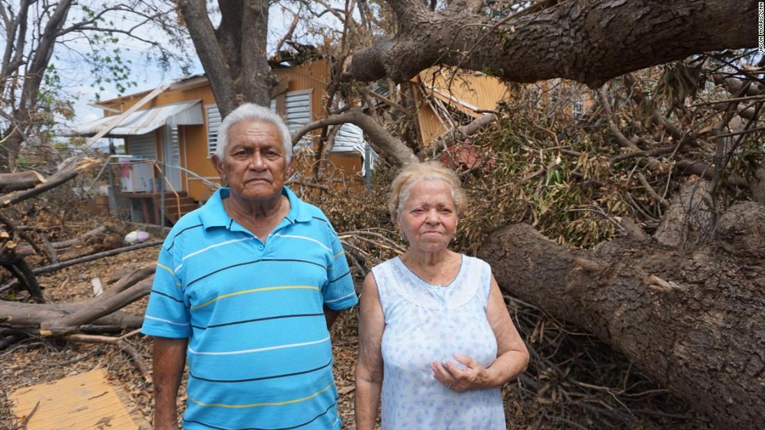 US war veteran's home destroyed in Puerto Rico