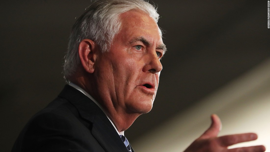 Tillerson: US can't ignore Rohingya crisis