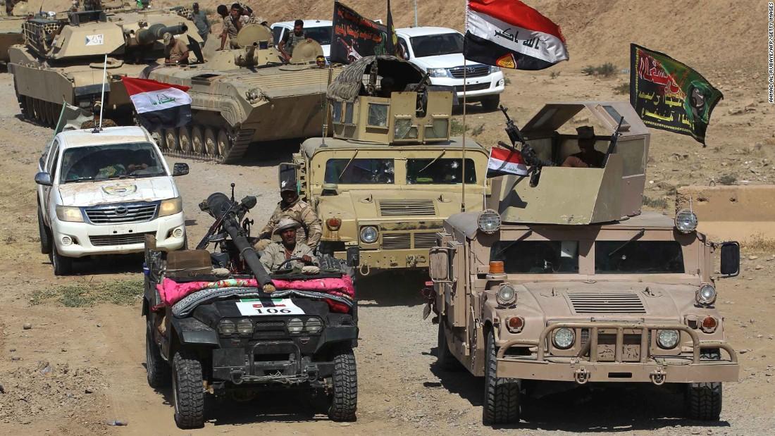 ISIS militants surrender to Kurds, general says