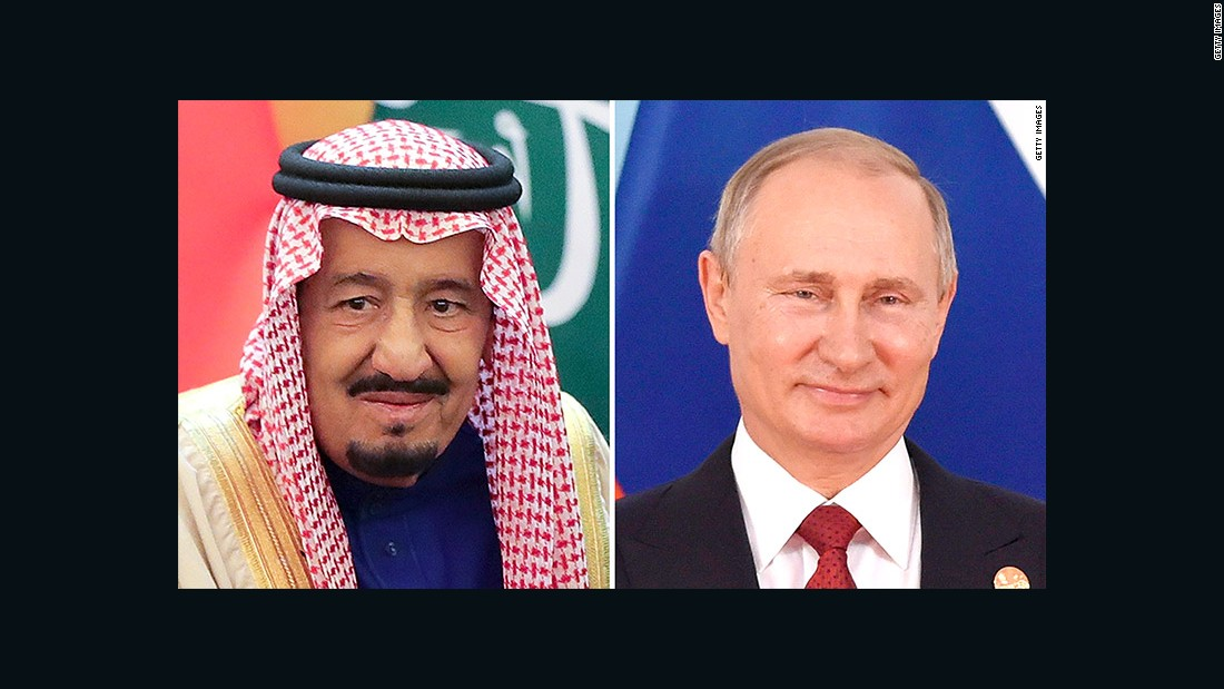 Oil brings Saudi king to Moscow