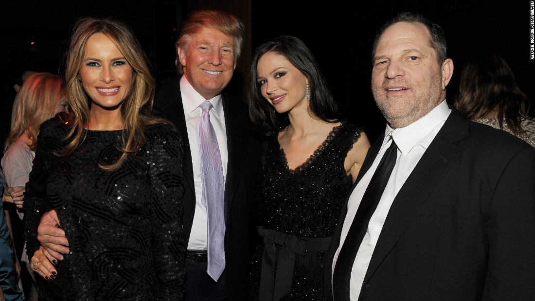 Opinion: Weinstein's fall grew from Trump rage
