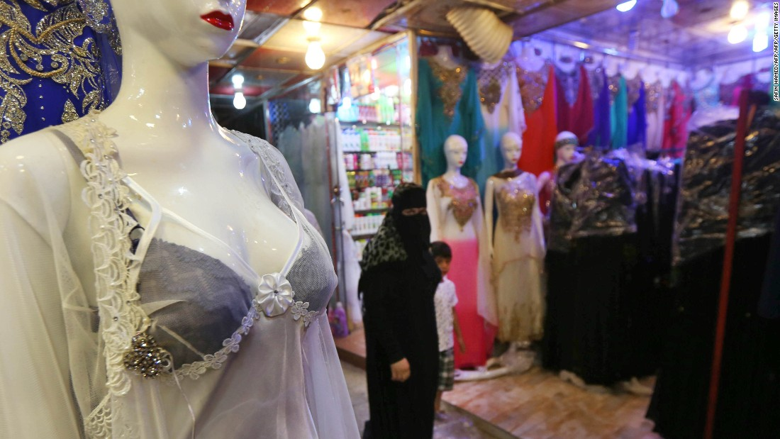 Look what you can buy in Mosul now