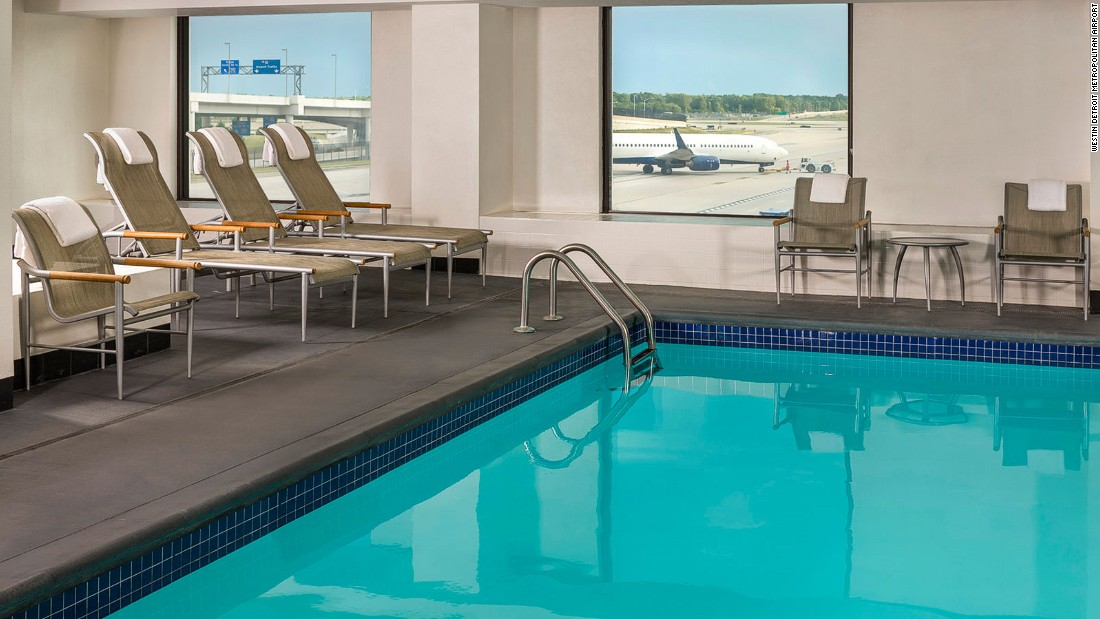 World's best airport swimming pools
