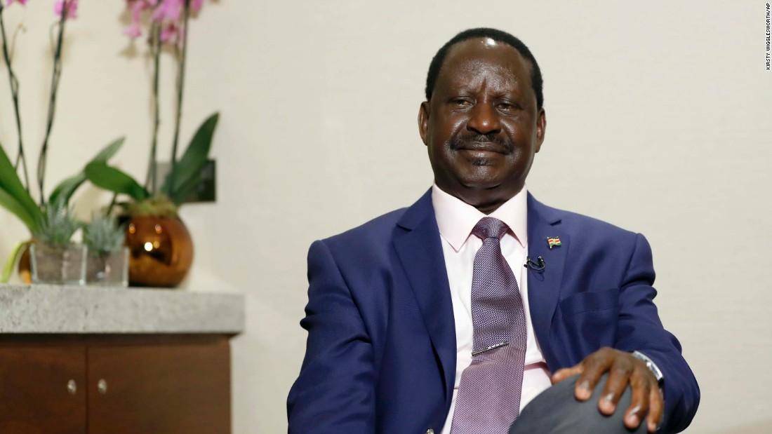 Kenya's Odinga says he could run for president again