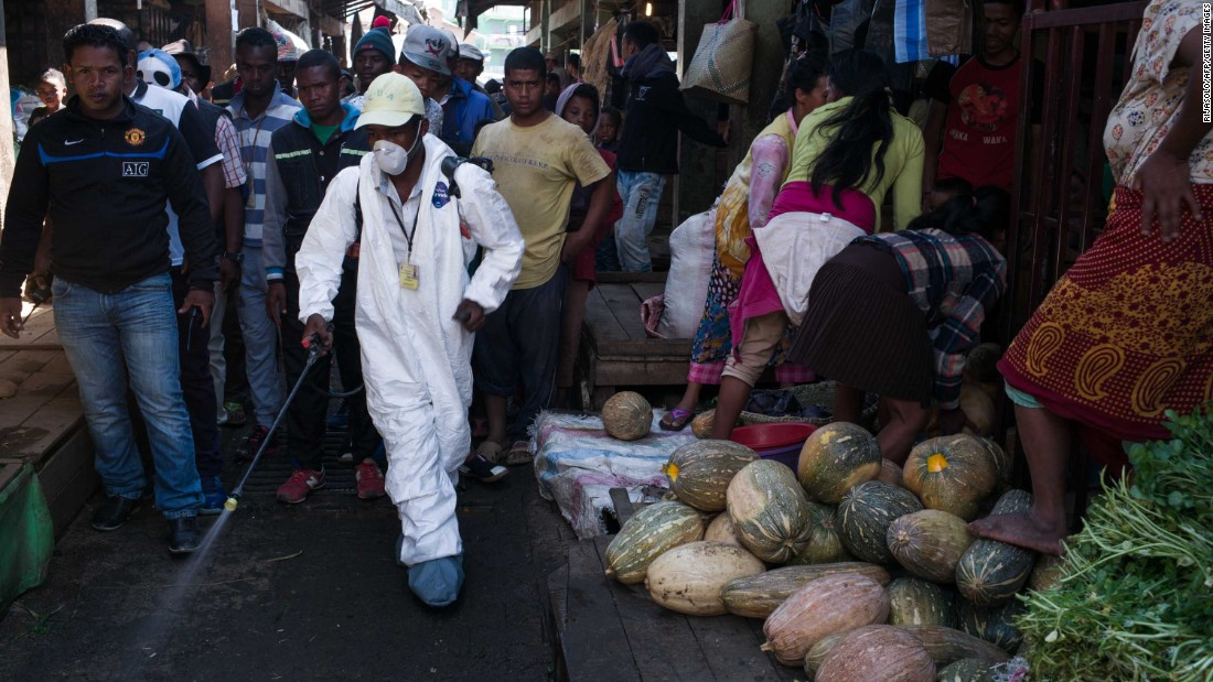 Plague outbreak in Madagascar slowing