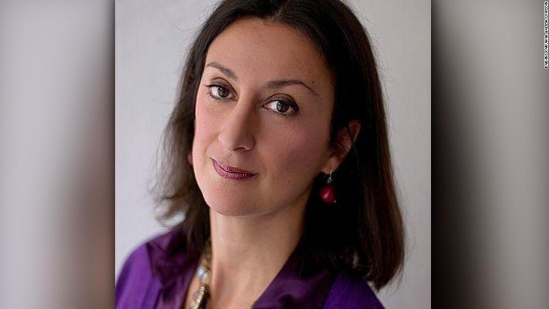 Son claims Maltese journalist 'assassinated'