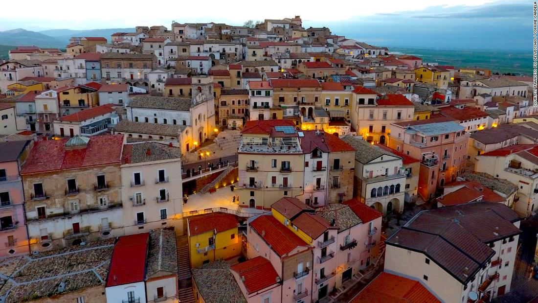 Italian town will pay you to move there