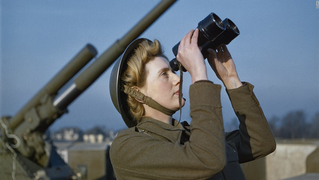 Rare color photos of WWII