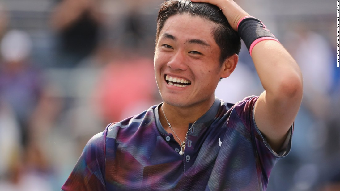 Are we looking at China's first male tennis star?