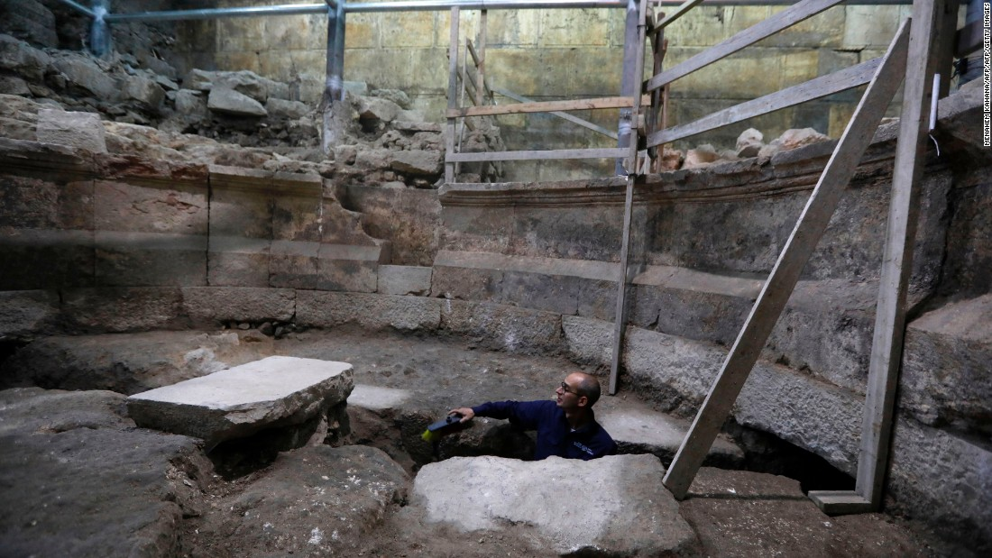 Ancient Roman theater unearthed