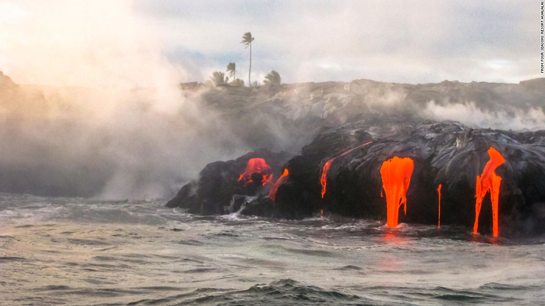Lava and luxury: A wallet-scorching tour