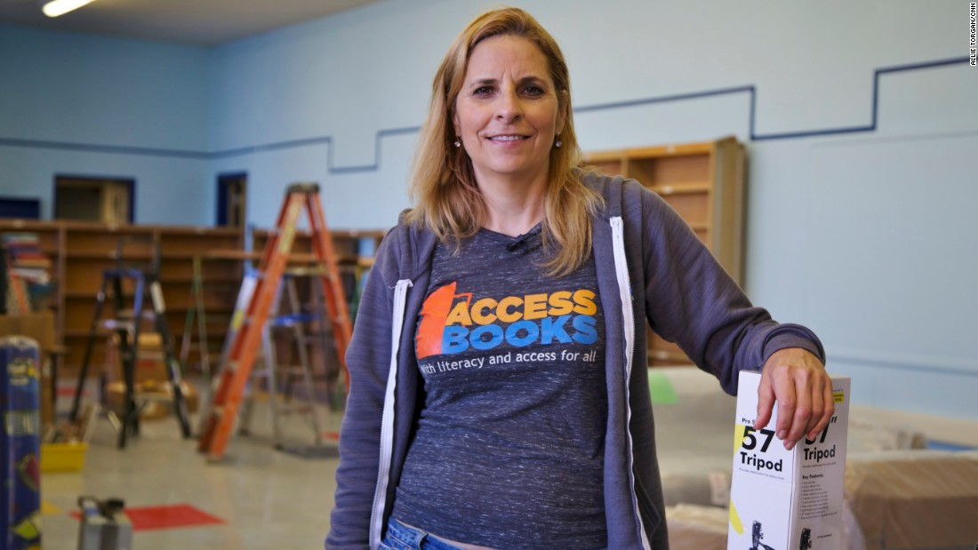 She gives book collections a boost
