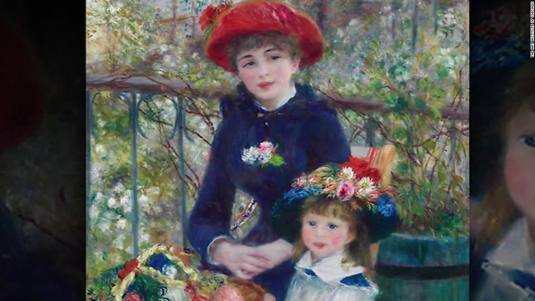 Trump bragged about his Renoir, but it's fake