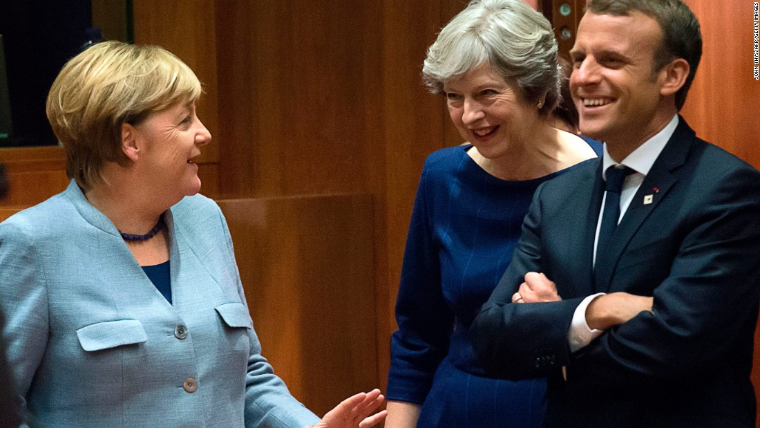 EU gives UK's May a boost in Brexit talks