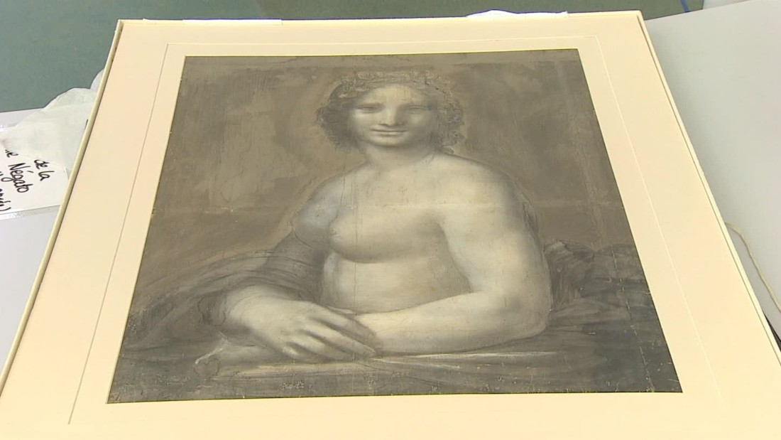 'Nude Mona Lisa' could be work of da Vinci