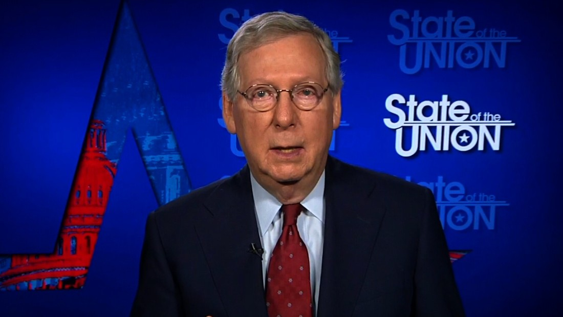 Trump doesn't get enough credit, McConnell says