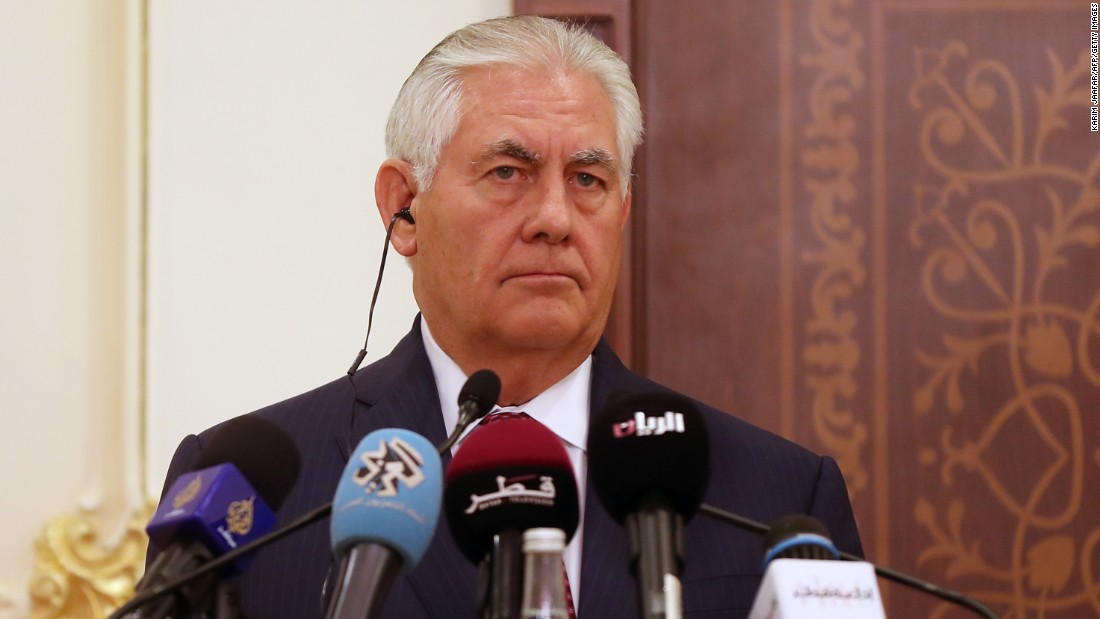 Tillerson: Time for Iranian-backed militias to leave Iraq