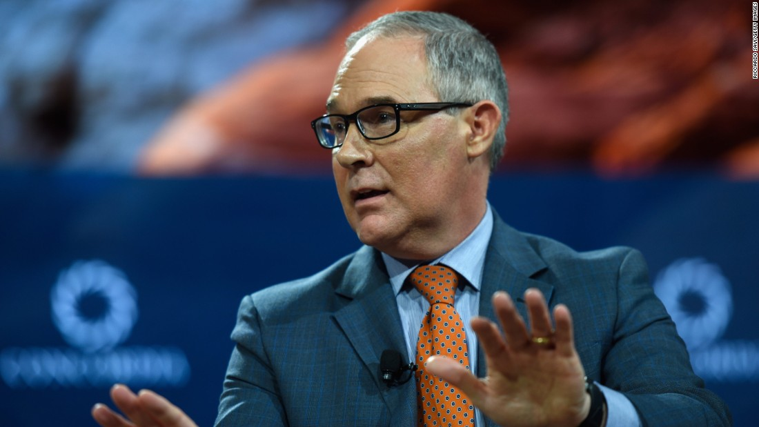 EPA chief's security beefed up after threats