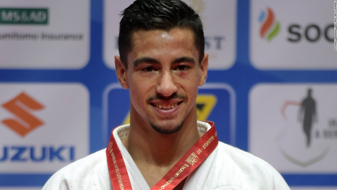 Israeli wins gold, denied anthem