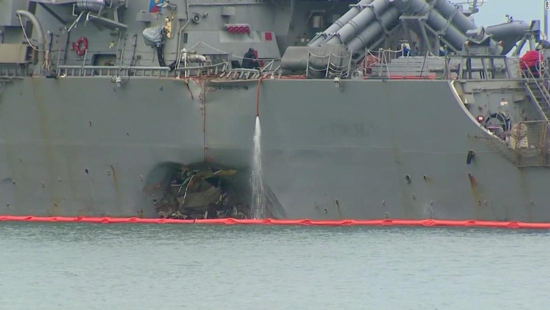 Navy ships in deadly crashes had lengthy training lapses